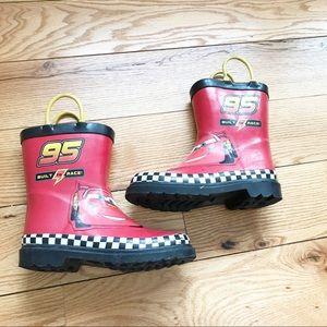 Disney Cars Rain Boots Size-12